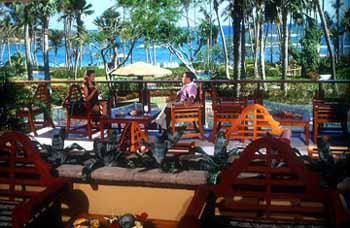 Flamingo Bar at the Hyatt Regency Cerromar Beach Resort